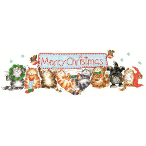 """Bothy Threads counted cross stitch kit """"Merry..."""