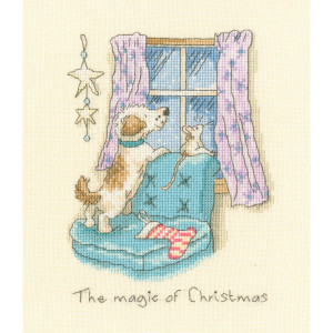"""Bothy Threads counted cross stitch kit """"The magic of..."""