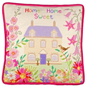 "Bothy Threads Gobelin-Stickkissen Set ""Home Sweet..."