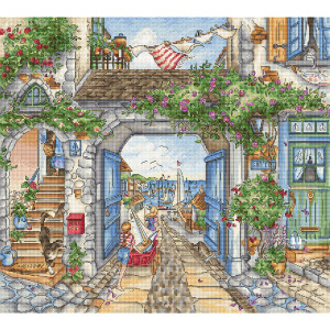 """Letistitch counted cross stitch kit """"To the..."""