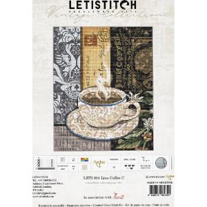 """Letistitch Kreuzstich Set """"Löwenkaffee C""""..."""