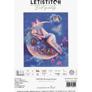 """Letistitch Kreuzstich Set """"Abendträume""""..."""