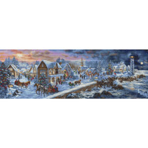 """Letistitch counted cross stitch kit """"Holiday at..."""