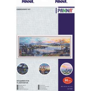 "Panna counted cross stitch kit ""Vladivostok"",..."