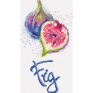 "Panna counted cross stitch kit ""Fig"",..."