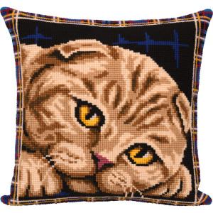 """Panna counted cross stitch cushion kit """"Scottish..."""