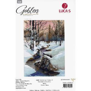 "Luca-S Gobelin Set ""Winter"", Zählmuster,..."