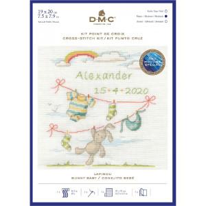 "DMC counted cross stitch kit ""Bunny Baby"",..."