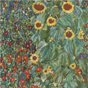 "DMC counted cross stitch kit ""Farm Garden With..."