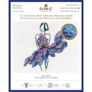 """DMC Kreuzstich Set """"Tutu Blau"""",..."""