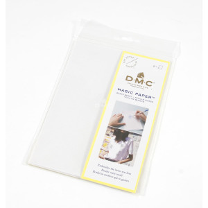 DMC Soluble Magic Paper white, 2 sheets a 14,8cm x 21,0cm