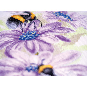 """Lanarte counted cross stitch kit """"Dancing Bees..."""