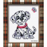 Riolis counted cross stitch Kit Dalmation Dog, DIY