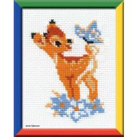 "Riolis Kreuzstich-Set ""Bambi"", Zählmuster"