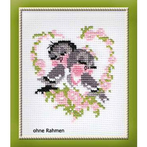 Riolis counted cross stitch Kit First Love, DIY