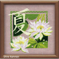 """Riolis counted cross stitch kit """"Summer"""", counted, DIY"""