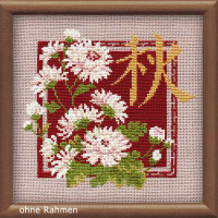 """Riolis counted cross stitch kit """"Autumn"""", counted , DIY"""