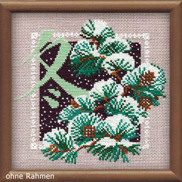 Riolis counted cross stitch Kit Winter, DIY