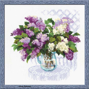 Riolis counted cross stitch Kit The Smell of Spring, DIY