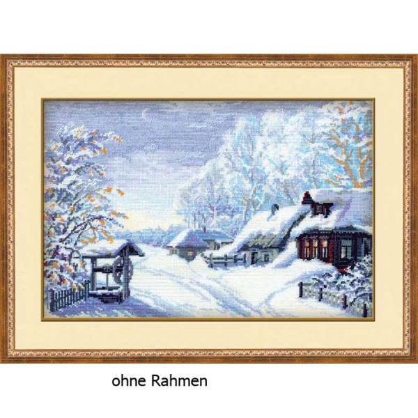 """Riolis Kreuzstich-Set """"Russischer Winter"""", Zählmuster"""