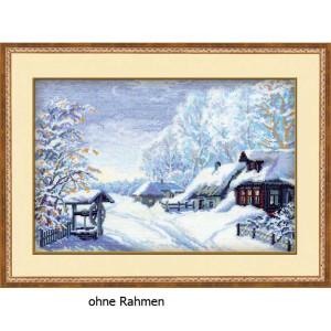 """Riolis Kreuzstich-Set """"Russischer Winter"""",..."""