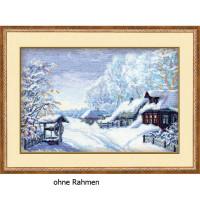 Riolis counted cross stitch Kit Russian Winter, DIY