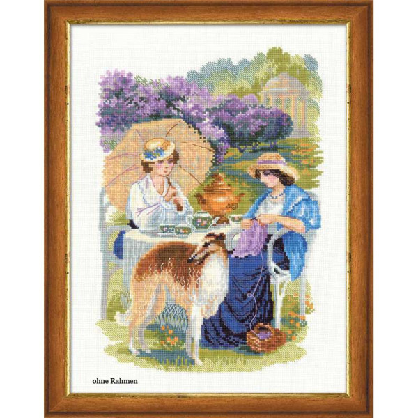 Riolis counted cross stitch Kit The Russian Country Estate. The Lilac Blossoms, DIY