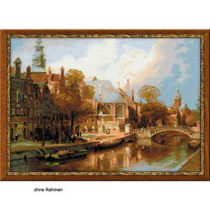 Riolis counted cross stitch Kit Amsterdam. The Old Church...