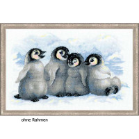Riolis counted cross stitch Kit Funny Penguins, DIY