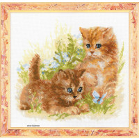 Riolis counted cross stitch Kit Childs Play, DIY