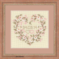 Riolis counted cross stitch Kit From all Heart, DIY