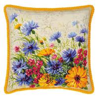 Riolis counted cross stitch Kit Moorish Lawn Cushion, DIY