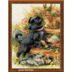 Riolis counted cross stitch Kit On the Holiday, DIY
