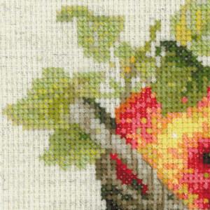Riolis counted cross stitch Kit Ripe Apples, DIY