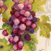 Riolis counted cross stitch Kit Grapevine, DIY