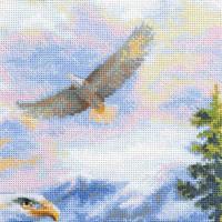 Riolis counted cross stitch Kit Free Flight, DIY