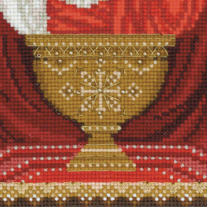 Riolis counted cross stitch Kit Inexhaustible Chalice, DIY