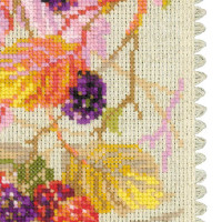 Riolis counted cross stitch Kit Blackberry, DIY