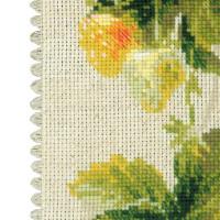 Riolis counted cross stitch Kit Strawberry, DIY