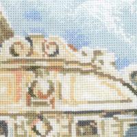 Riolis counted cross stitch Kit Venice. Bridge of Sighs, DIY