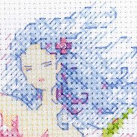 Riolis counted cross stitch Kit Spring Breeze Fairy, DIY