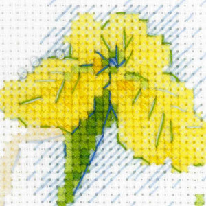 Riolis counted cross stitch Kit Sunny Day Fairy, DIY
