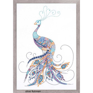 Riolis Stitch Kit Bird of Luck, stamped, DIY