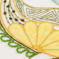 Riolis Stitch Kit Lovely Flower, stamped, DIY
