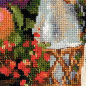 Riolis counted cross stitch Kit Summer Abundance, DIY