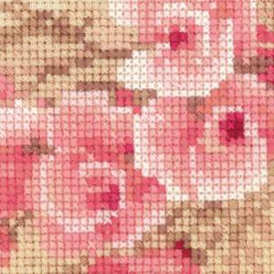 Riolis counted cross stitch Kit Pink Pomegranate, DIY