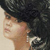 Riolis counted cross stitch Kit Velvet Evening, DIY