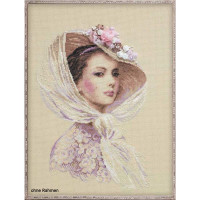 Riolis counted cross stitch Kit Lilac Evening, DIY