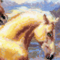 Riolis counted cross stitch Kit In the Sunkit, DIY