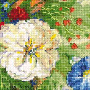 Riolis counted cross stitch Kit Flemish Summer, DIY